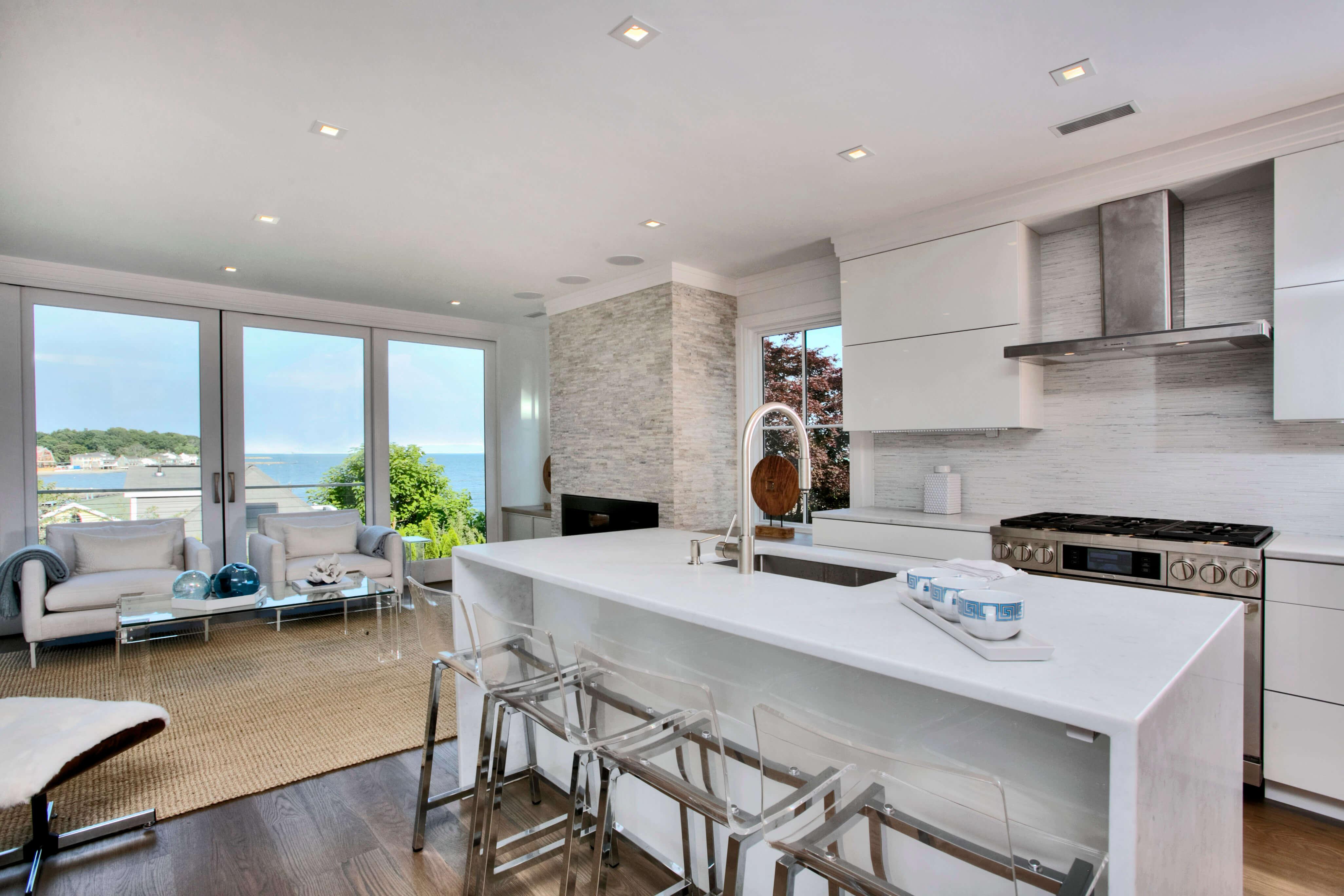 Classic Contemporary Beach House Westport Ct Award Winning Kitchen Bath Design Studio
